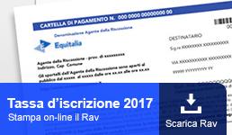 Tassa iscrizione 2017
