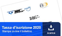 Tassa iscrizione 2020