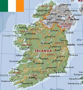 Cartina Geografica Fisica Dell Irlanda.Opportunita Di Lavoro In Irlanda